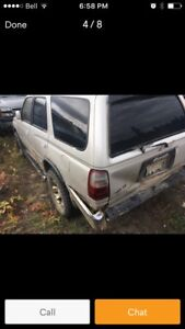 Wanted 4runner Tacoma Toyota parts