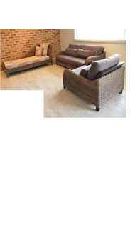 ***Indoor/Outdoor Sofa Set n Chaise Lounge Hurry ONE of a Kind***