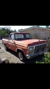 Looking for someone to work on old ford f100