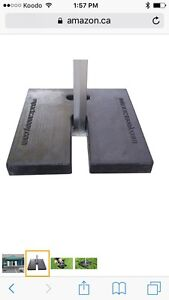 Impact Canopy weight, 21lb, new, $60