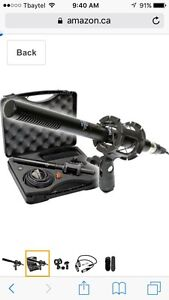 VidPro XM-55 Professional Video and Broadcast Microphone Kit
