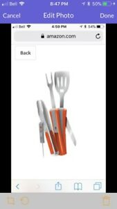 New 8-in-1 grilling tool
