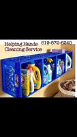 Helping Hands Cleaning Service.. serving St Thomas Area