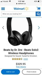 Beats by Dre solo 3