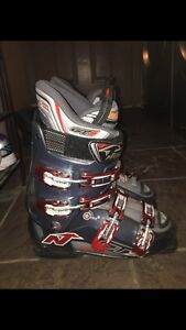 Skiing boots