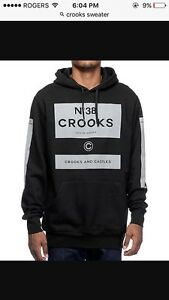Crooks and Castles Sweater Large