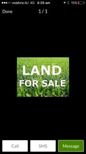 Lyndhurst Aquarevo titled east facing land 523 sq 425000$