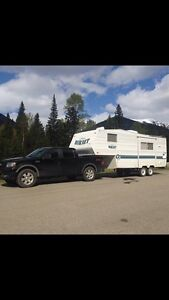24ft holiday trailer/ 5th wheel. $6800