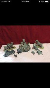 Schnauzer Figurines