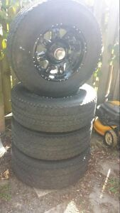 17 Inch Firestone Transforce Tires & Rims