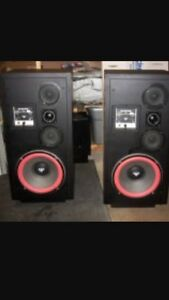 Cerwin Vega D7 speakers