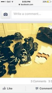 Youth hockey set.  Complete size youth L/XL