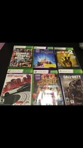 Xbox 360 and One games