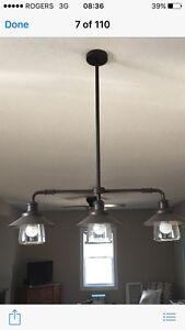 Light fixture - industrial looking.