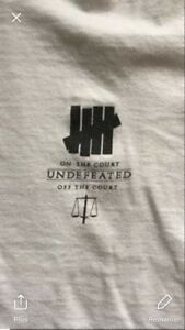 Rare undefeated tee