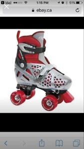 Roller skates. Adjustable boy's size 3-6. NEW