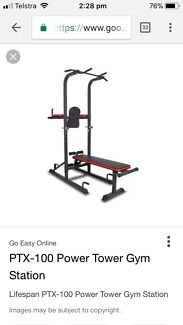 Wanted: Lifespan PTX-100 power tower gym
