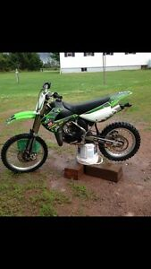 Blown up kx 100 trade for a pit bike
