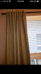 Olive Green Curtains and drapes