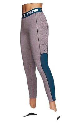Nike Pro Leggings Womens Size S 8-10 Exercise Yoga Running Pants