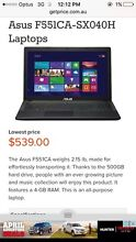 New Asus laptop Muswellbrook Muswellbrook Area Preview