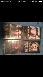 Homeland tv series dvd (seasons 1,2.3 & 4)