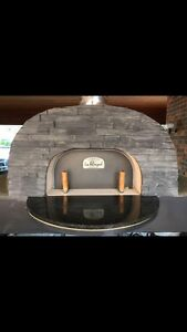Portable wood fire pizza oven on trailer Wandin North Yarra Ranges Preview