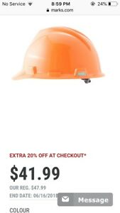 Hard hat with hear muffs