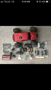 Hpi savage xl nitro rc truck