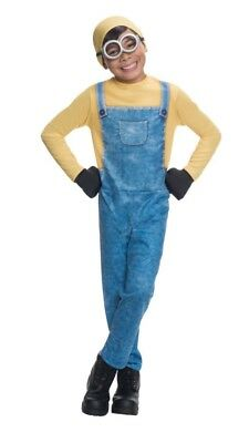 Dispicable Me MINION BOB Youth Costume Size L (12-14 )  Rubies NEW (Dispicable Me Minion Costume)