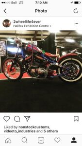 Cool custom built Harley!!!