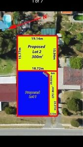 LAND - PRIVATE & SECURE 300 SQM REAR LOT in Craigie Madeley Wanneroo Area Preview