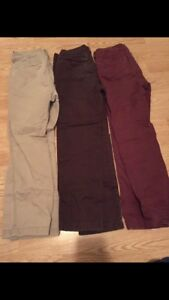 Lot of boys pants Abercrombie size 11/12 excellent condition