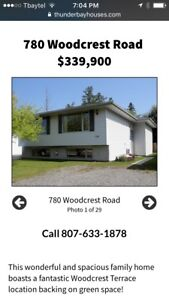 1430sq ft Bi-level w/ in-law suite potential ~ 780 Woodcrest