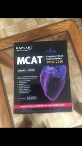 MCAT books 2018-2019