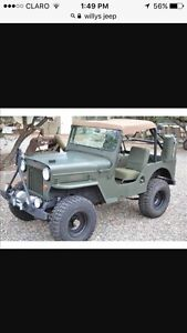 Willys jeep wanted