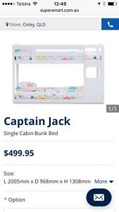 White bunks Capalaba Brisbane South East Preview
