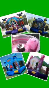 Bouncy castle & fairy floss machine hire $200 a day Wangara Wanneroo Area Preview