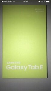 Tablette Samsung Galaxy tab E 8 pouces 16 gb