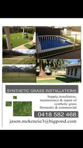SYNTHETIC GRASS INSTALLATIONS & HANDY MAN SERVICES Echuca Campaspe Area Preview
