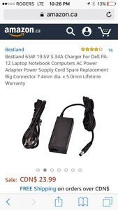NEW-65W 19.5V 3.34A Charger For Dell PA-12 Laptop Notebook