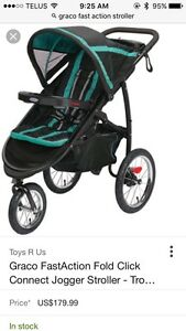 BRAND NEW Graco Fast Action Jogger Stroller