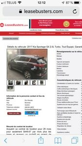 Location 28 mois Kia turbo
