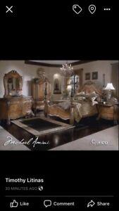 Ensemble de chambre Colonial luxueux .