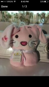 NEW baby hooded towel 100% polyester