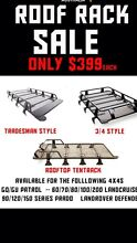 PREMIUM 4x4 STEEL ROOF RACKS FROM $399 was $899 Rocklea Brisbane South West Preview