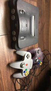N64 console and controllers for sale (cheap)