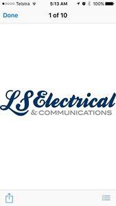 Electrician - LS Electrical & Communications Lesmurdie Kalamunda Area Preview