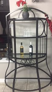 WINE OR DISPLAY RACK,EXCELLENT CONDITION