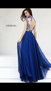 Sherri Hill Royal Blue Dress London Ontario image 2